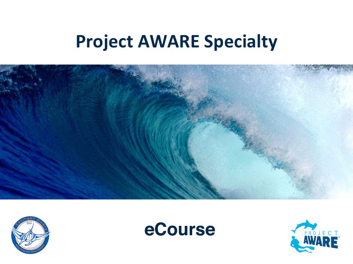 Project AWARE Specialty PADI eCourse